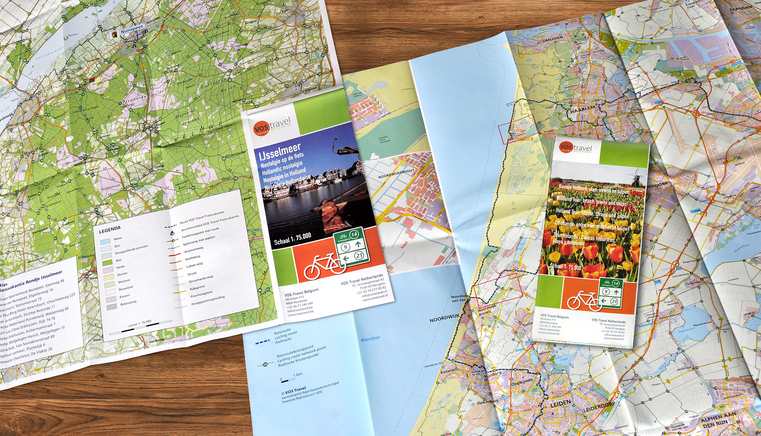 Reijers_Kaartproducties_Kaartmakers_Cartografie_Nederland_landkaart_VosTravel_covers